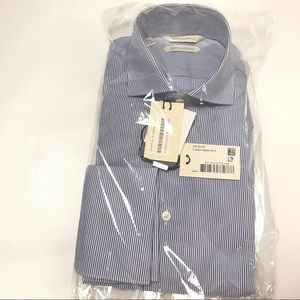 Suit Supply Dress Shirt 37/14.5 Extra Slim Fit